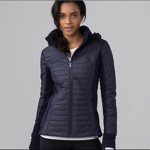 Lululemon First Mile Jacket Navy Size 4